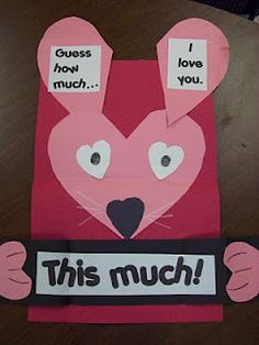Guess How Much I love You Card  http://www.scribd.com/doc/48494593/guess-how-much-I-love-you