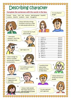 Describing character #EnglishVocabulary #expressions #Adjectives @English4Matura