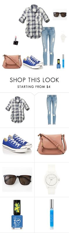 """""""Untitled #331"""" by micha-p ❤ liked on Polyvore featuring Abercrombie & Fitch, Frame, Converse, Tom Ford, ANT TREE, Vince Camuto, Rimmel, CLEAN and Laura Mercier"""