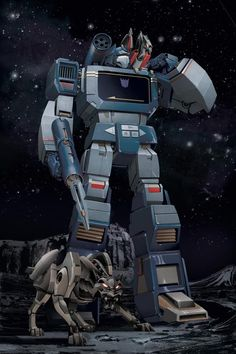 Soundwave G1 transformers