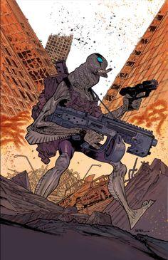 Abe Sapien by James Harren @iFanboy weekly sketchup #ComicArt #ComicBooks