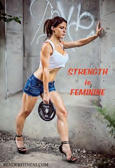 Strength is Feminine. Free Metabolism Boosting Home Workout video, and workout breakdown. No Equipment. Body weight. #onabender  www.benderfitness.com