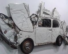 Pressed Flower White by Ron Arad #artbasel #art #sculpture #vintage #car