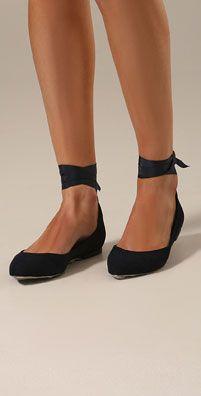 Ballerina shoes for a ballerina dress