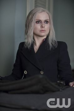 """iZombie -- """"Patriot Brains"""" -- Image Number: ZMB108B_0358 -- Pictured: Rose McIver as Olivia """"Liv"""" Moore -- Photo: Cate Cameron/The CW -- © 2015 The CW Network, LLC. All rights reserved.pn"""