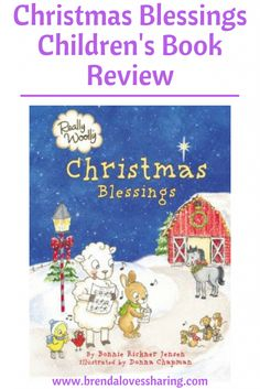 Christmas Blessings is a devotional for young children, with very cute characters in it that help tell the story of Christmas.  Click on image to read my review.