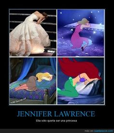 """She only wanted to be a princess!""  Hahaha"