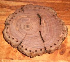 1 PINE NEEDLE Basket BOTTOM 3 Genuine Red by PrairieWoodSprite