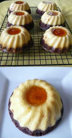 Spicy Mexican Hot Chocolate Mini Flan Cakes