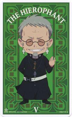 Fujimoto Shirou | Ao no Exorcist Tarot Cards
