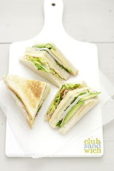 club sandwich recipe and tips on my blog today www.pane-burro.blogspot.com