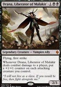 Drana, Liberator of Malakir, Magic, Battle for Zendikar