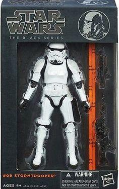 "STAR WARS-Black Series 6/"" Premier ordre Storm Trooper #04 Hasbro Disney nouveau"