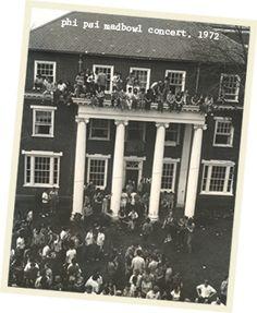 Phi Psi madbowl concert 1973