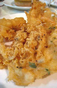 Tortas de camarones en Sanlucar