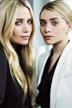 the Olsen twins are like a timeless black dress. Never out of style, always beautiful.