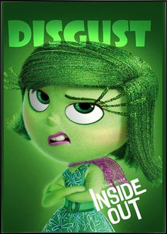 Inside Out (2015) - Character Disgust