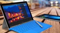 Does the new Surface Pro 4 have what it takes to go up against the similarly priced Apple iPad Pro, now that Cupertino is finally making a larger iPad with an optional keyboard? Microsoft Pro, Microsoft Surface Pro 4, Surface Pro 3, Geek Tech, Technology Updates, New Laptops, Digital Scrapbooking Layouts, Ipad Pro, Tecnologia