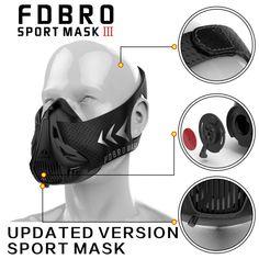 KIX MMA Sports masks - conditioning training with box phantom mask   #mma #nofear #summeriscoming #movenow