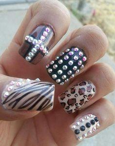Nails estilo sinaloaaaa