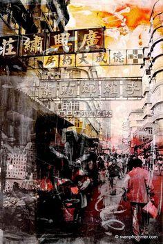 "Posted on Twitter by @xavierdaniel999 Sven Pfrommer Germany ""HONG KONG STREETS X""   #Travel #Asia #Photo #myAsiaTravelguide.com #China #HongKong"