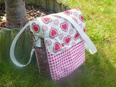 Best Bike Bag ever! Bike Bag, Handmade, Hand Made, Handarbeit