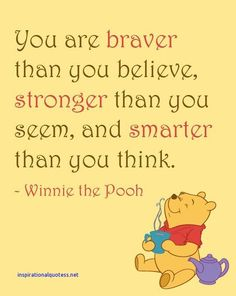Inspirational Quotes Winnie the Pooh
