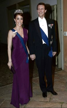 Princess Marie wore this tiara for the dinner during the Finnish State Visit in April 2013.
