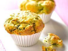 Découvrez la recette Muffin courgettes chèvre sur cuisineactuelle.fr.