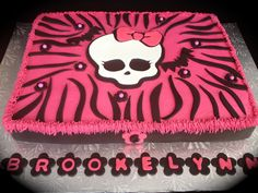 Children's Birthday Cakes - Monster High