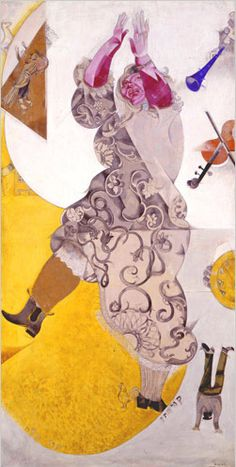 Marc Chagall, Dance on ArtStack #marc-chagall #art