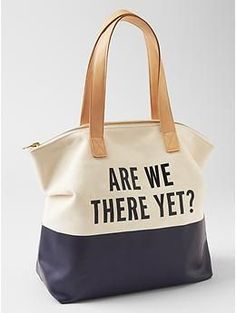 New Kate Spade for Gap bags for tweens/teens - but we like it for us.