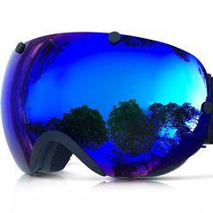 Zionor Lagopus Snowmobile Snowboard Skate Ski Goggles with Detachable Lens Snowboard Goggles, Ski Goggles, Ski And Snowboard, Snowboarding, Skiing, Oakley Sunglasses, Mirrored Sunglasses, Best Skis, Ski
