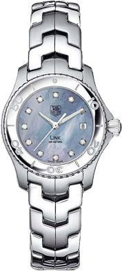 WJ1317.BA0573  TAG HEUER LINK WOMENS QUARTZ WATCH  IN STOCK - Click to View Mother's Day Luxury Watch Sales Event    Store Display Model  (What's This