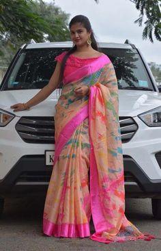 Ideal Pink Color Soft Silk Designer Sarees SC1208 – sareego.com