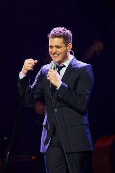 Michael Buble in concert Xcel Energy Center in Saint Paul, Minn. March 28, 2010 (credit: Tony Nelson)
