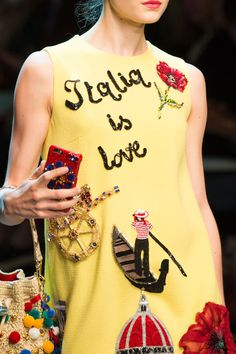 sofiazchoice:  Dolce & Gabbana at Milan Fashion Week Spring 2016   So need this!!!
