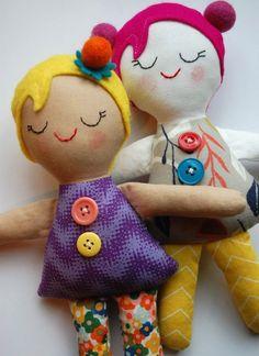 #free #doll #pattern #Boneca de #Pano #PAP.  Sleepy Josephines