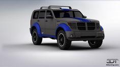 Dodge Nitro designed by Cody Squier