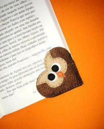 Book Markers, Page Marker, Anti Stress, Fun Crafts, Origami, Projects To Try, Patches, Scrap, Teddy Bear