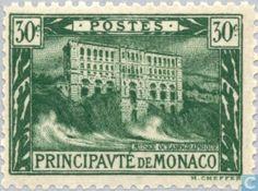 Monaco - View of the Principality 1922