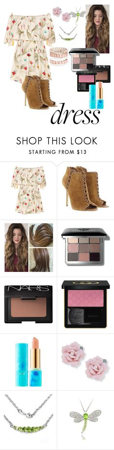"""""""Spring Trend"""" by erbrock ❤ liked on Polyvore featuring Fendi, Michael Kors, Bobbi Brown Cosmetics, NARS Cosmetics, Gucci, tarte, Palm Beach Jewelry, Olivia Leone, Dolce Giavonna and Avenue"""