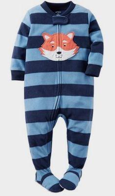Carter's Baby Boys 1 Pc Fleece Footed Pajamas: Clothing Amazon Kids http://amzn.to/2cYDIiA