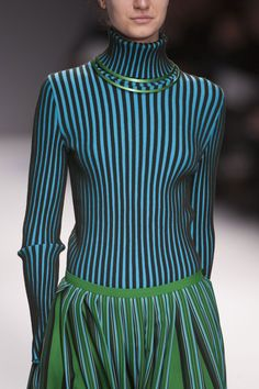 ✚ Issey Miyake #issey #miyake #japanese #fashion #designer #technology #driven #clothing #designs #structured #unusual #textures #experimental #technique #garment #pleating #pleats #please #runway #blue #green #amasian #amasia