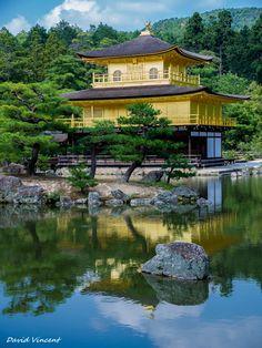 Golden Pavillion of Kinkaku-ji temple (金閣寺), Kyōto (京都市)