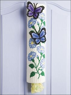 Butterflies | bag holder |
