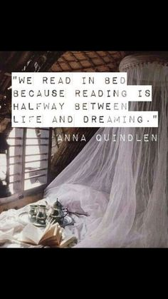 We read