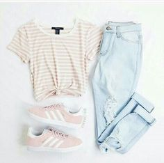 ❥ // Shop the Look – # – Mode Outfits Teenage Girl Outfits, Teen Fashion Outfits, Teenager Outfits, Swag Outfits, Mode Outfits, Look Fashion, Outfits For Teens, Summer Outfits, Womens Fashion