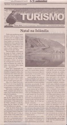 Natal na Islândia – Publicado em 21 de dezembro de 2006