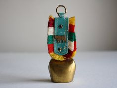 Vintage Cow Bell  Brass Bell  Cow Bell by LittleCollective on Etsy, $9.00